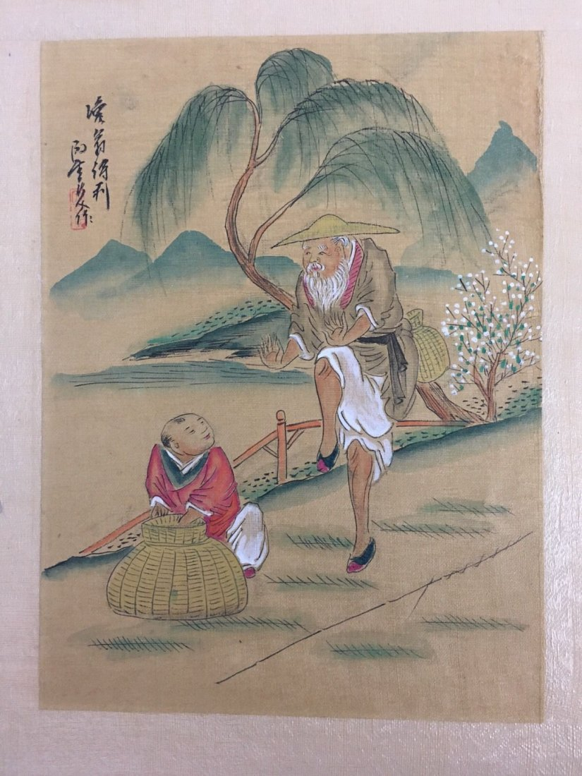 Vintage CHINESE Woodblock