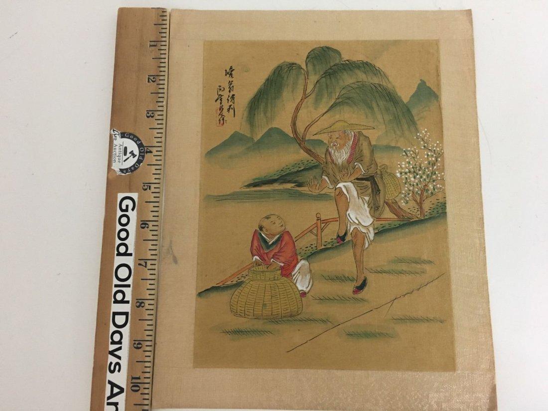 Vintage CHINESE Woodblock - 6