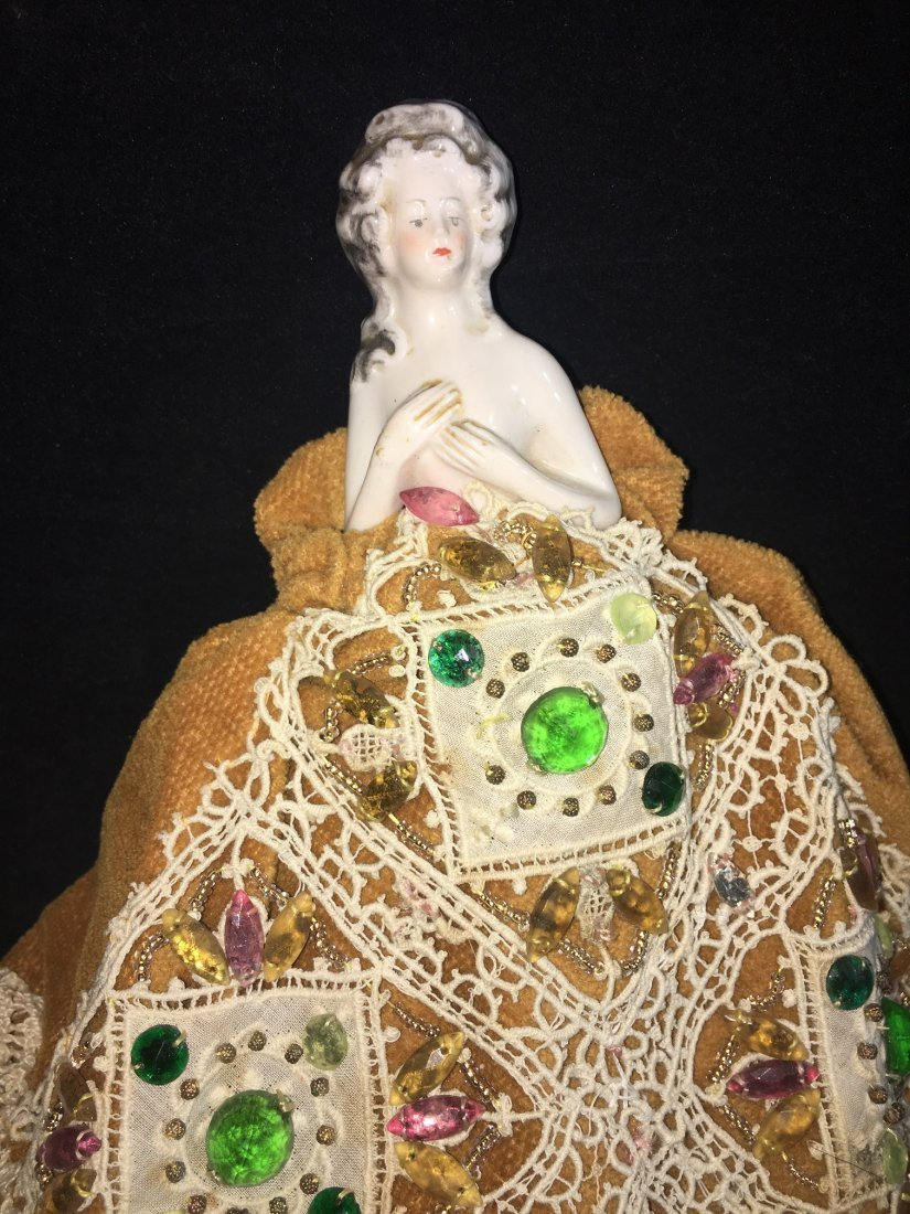 Lot of 7 Antique german hald dolls - 5