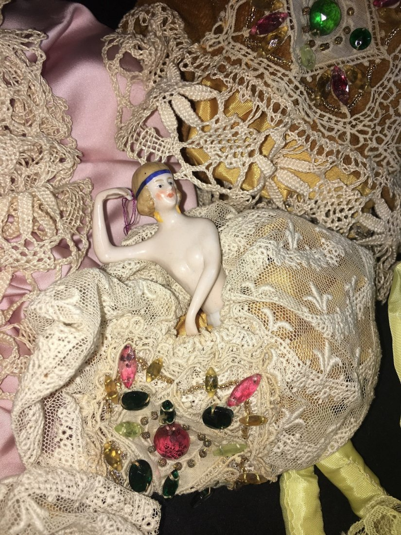 Lot of 7 Antique german hald dolls - 8