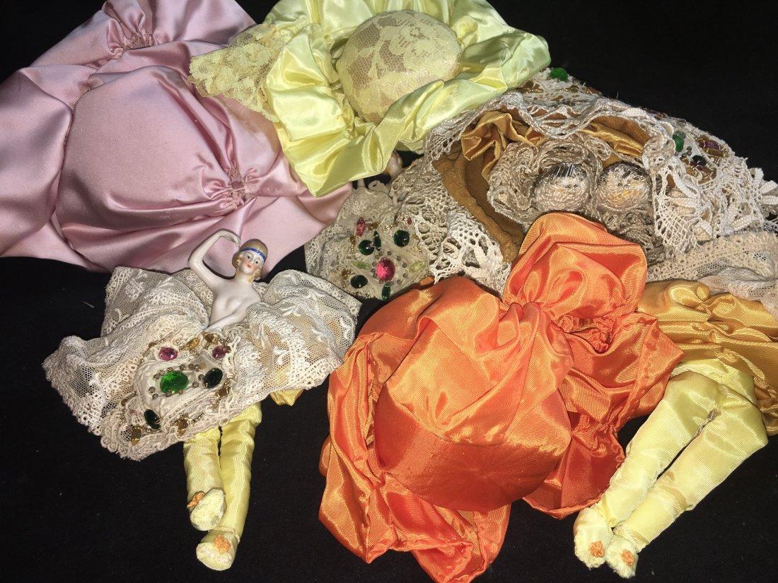 Lot of 7 Antique german hald dolls - 9
