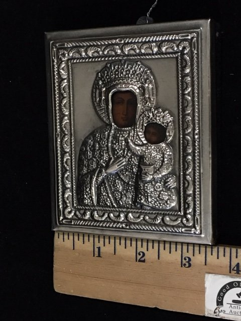Russian Religious Travel Icon - 5