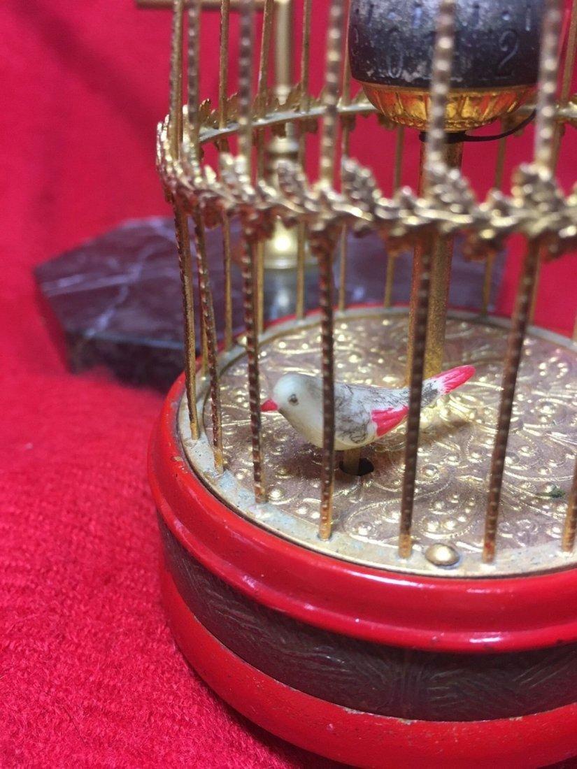 German Birdcage Clock #1 - 5