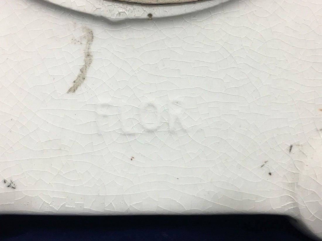 Porcelain Mantle Oakley Clock Seth Thomas - 5