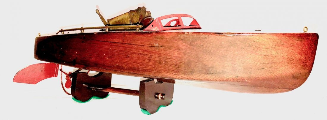 "Antique 21"" Seaworthy Jacrim MFG Boat Wood. Works great - 2"