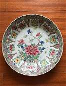 Fine Antique Chinese Famille Rose Flower Plate