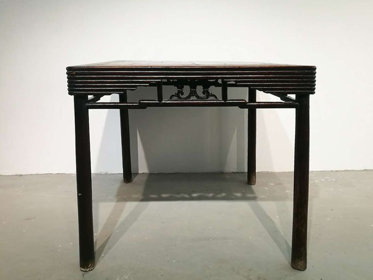 Fine Old Chinese Hardwood Square Table