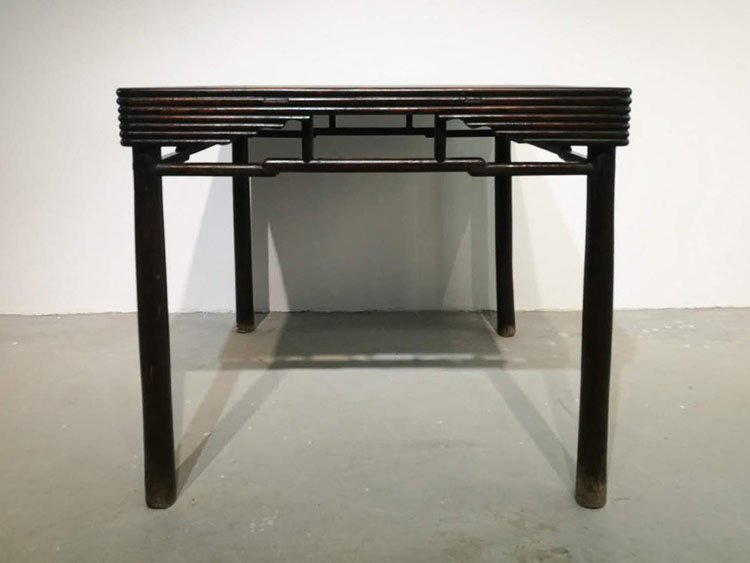 Fine Old Chinese Hardwood Square Table - 2