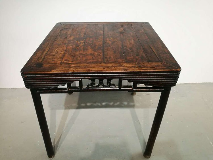 Fine Old Chinese Hardwood Square Table - 3