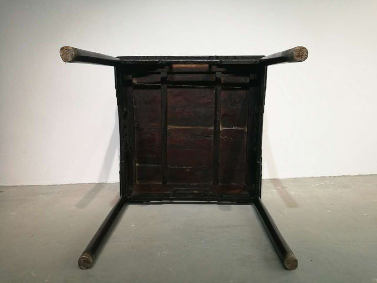 Fine Old Chinese Hardwood Square Table - 4