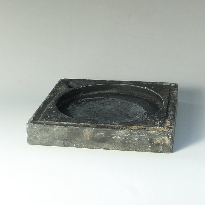 Old Chinese Ming Dynasty Duan Ink Stone - 2