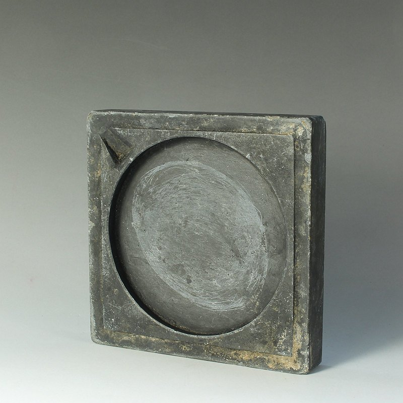 Old Chinese Ming Dynasty Duan Ink Stone - 3