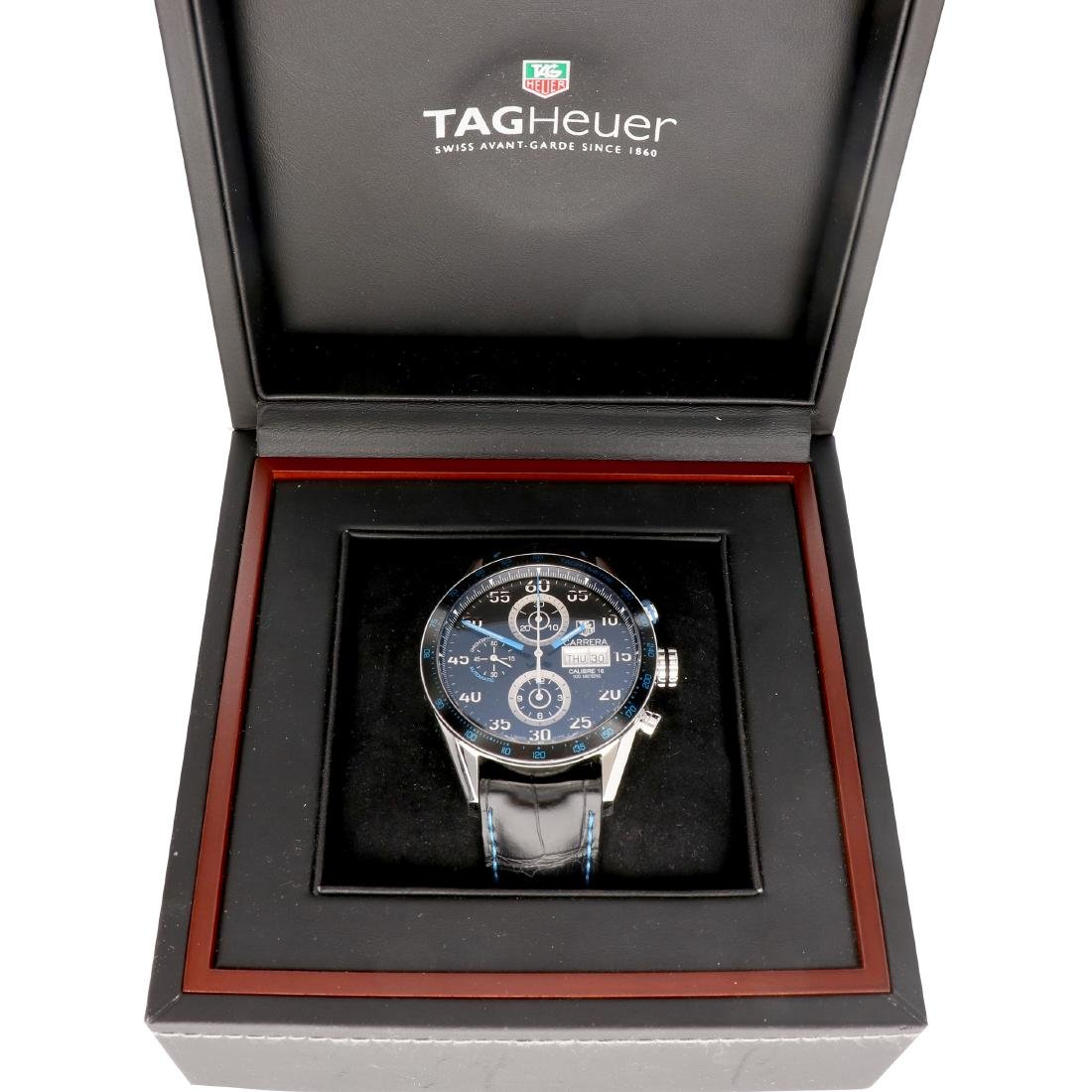 Tag Heuer Carrera CV2A1C - Men's watch - Automatic. - 7