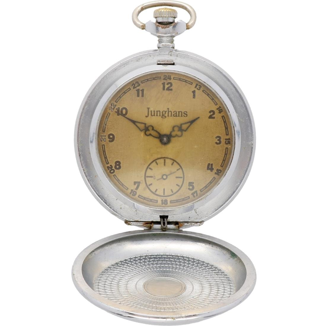 Junghans - Men's pocket watch - Manual winding.