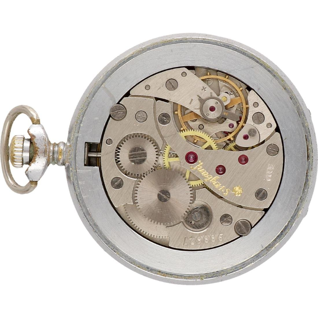 Junghans - Men's pocket watch - Manual winding. - 4