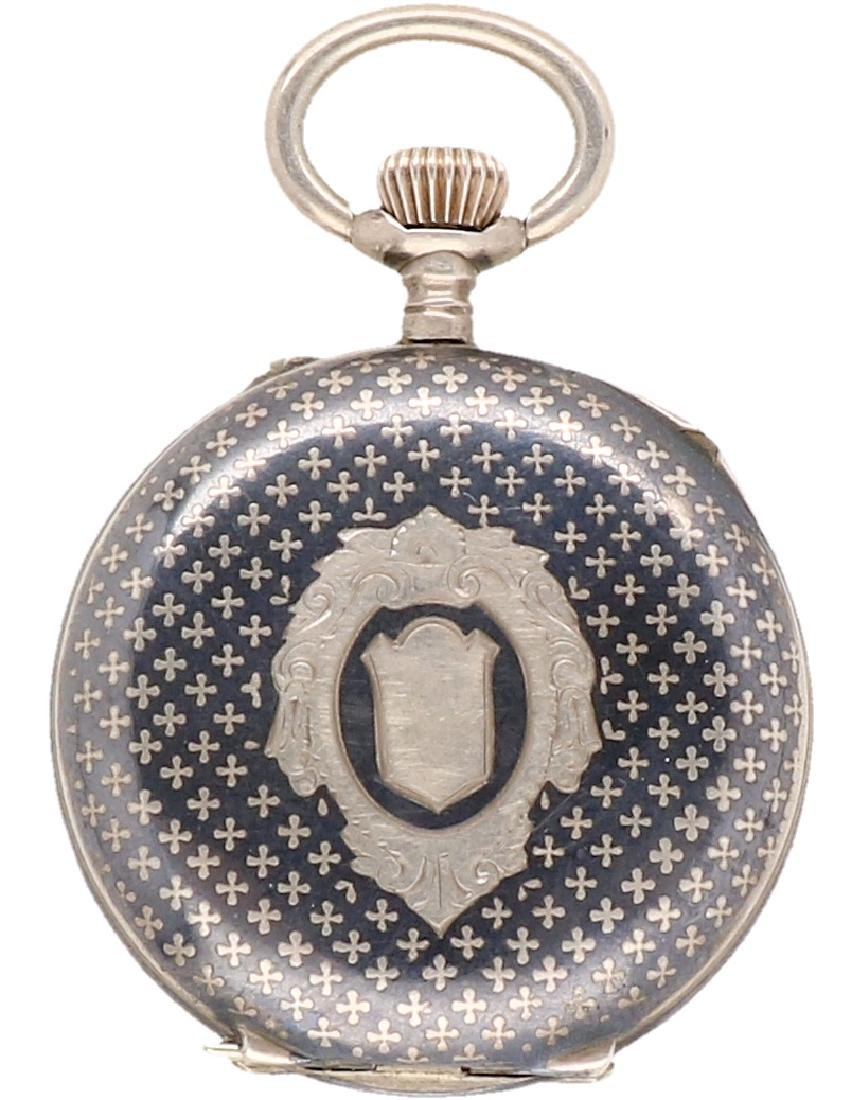 Niello - Ladies pocket watch - Manual winding. - 2