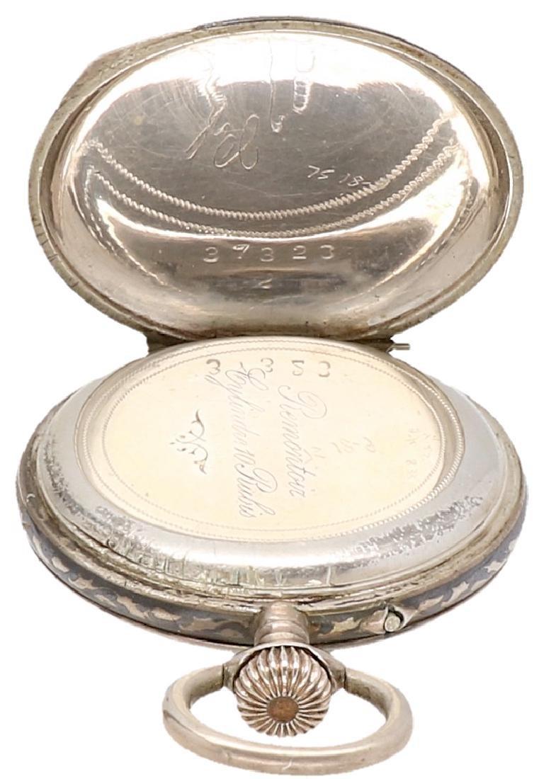 Niello - Ladies pocket watch - Manual winding. - 5