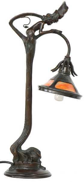 table lamp art nouveau - Antique Lamp