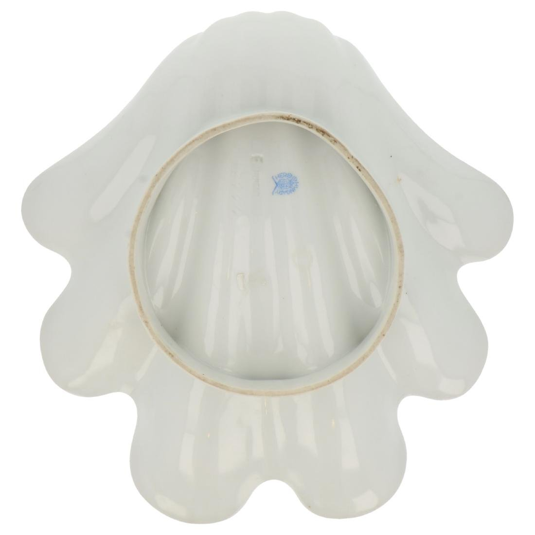 Herend porcelain shell plate. - 2