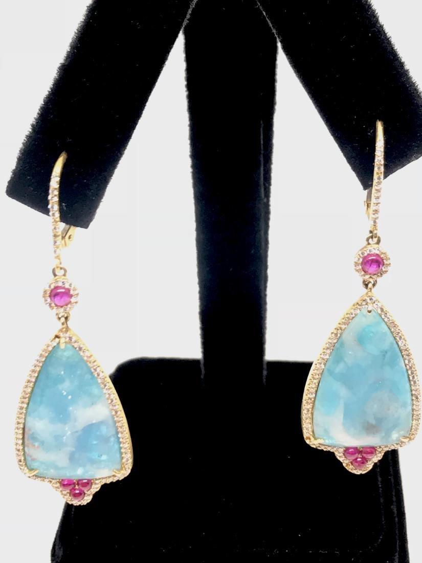 18k Sleeping Beauty Turquoise - 2