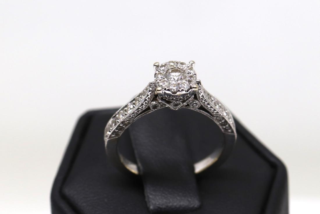 14k diamond ring - 2