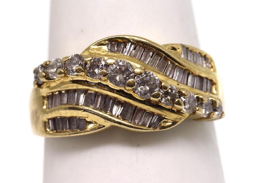 14k Cocktail Diamond Ring