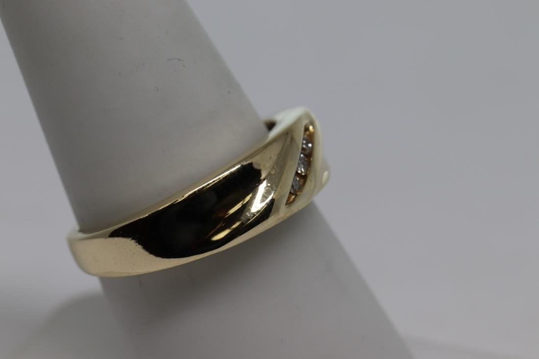 14k Men's Diamond Ring - 3