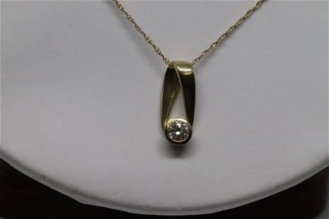 4 Karat Diamond Pendant