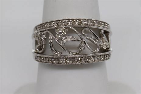 Art Deco Design Diamond Ring