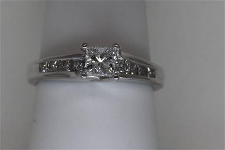 100ct Princess Cut Diamond Ring
