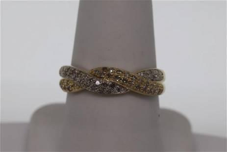 14k Ladys Diamond Ring