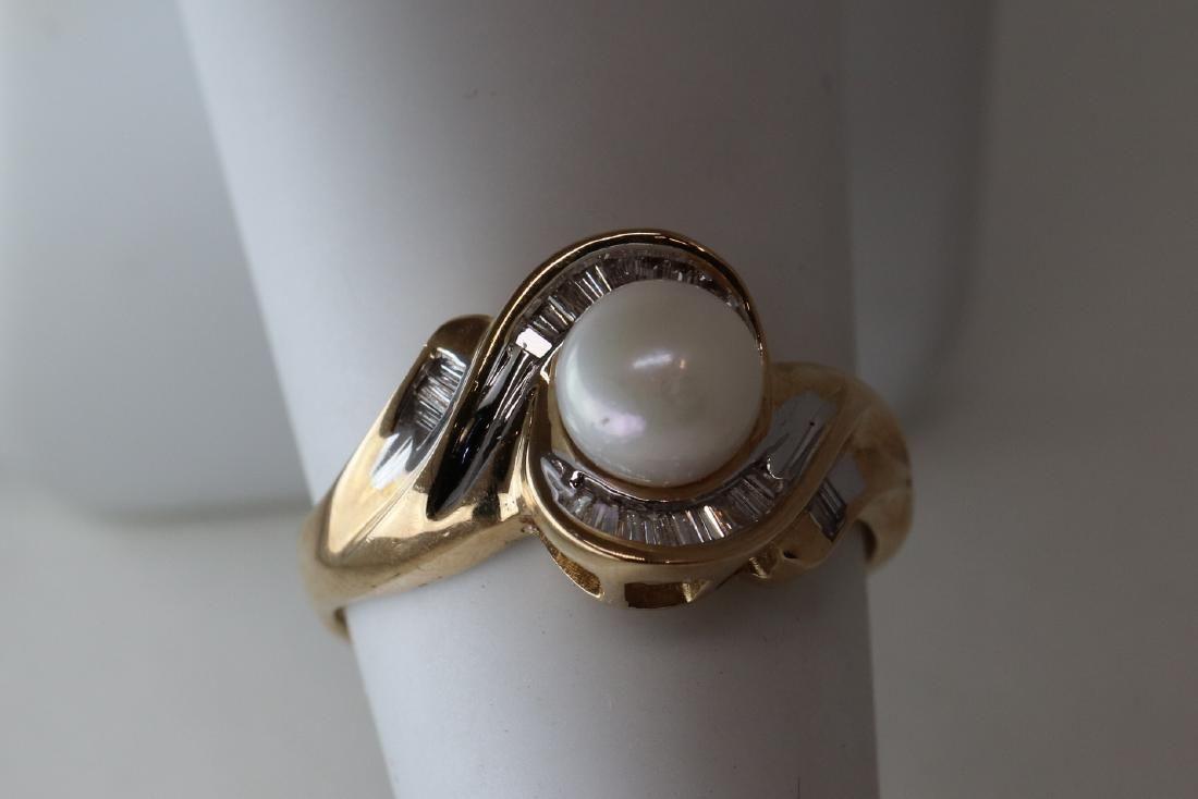 10k Diamond And pearl
