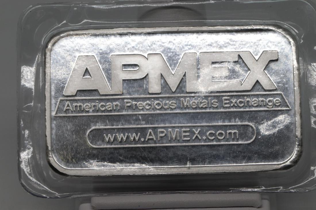 APMEX .999 5oz Fine Silver