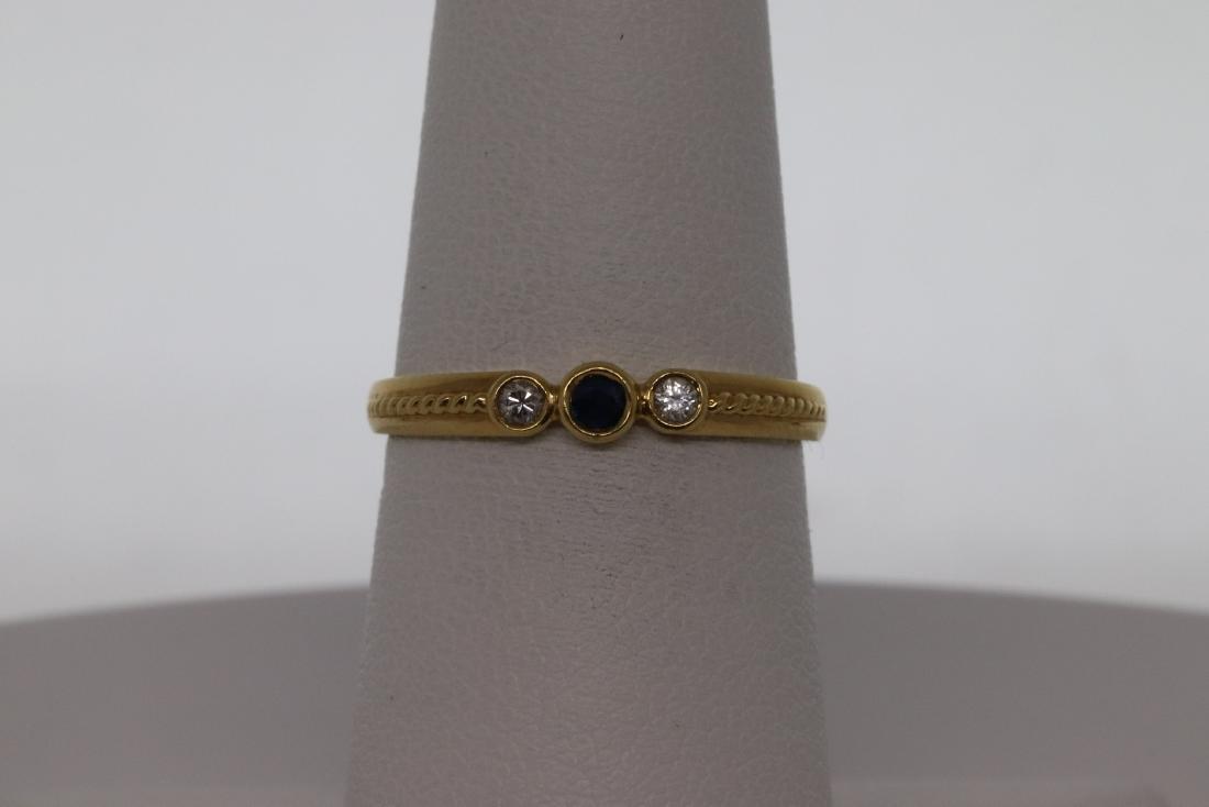 18Kt Art Deco Diamond Ring