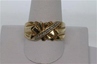 dd6ac293eee99 501: Men's Gold & 2.4 ct Diamond Gold nugget ring - Sep 30, 2012 ...