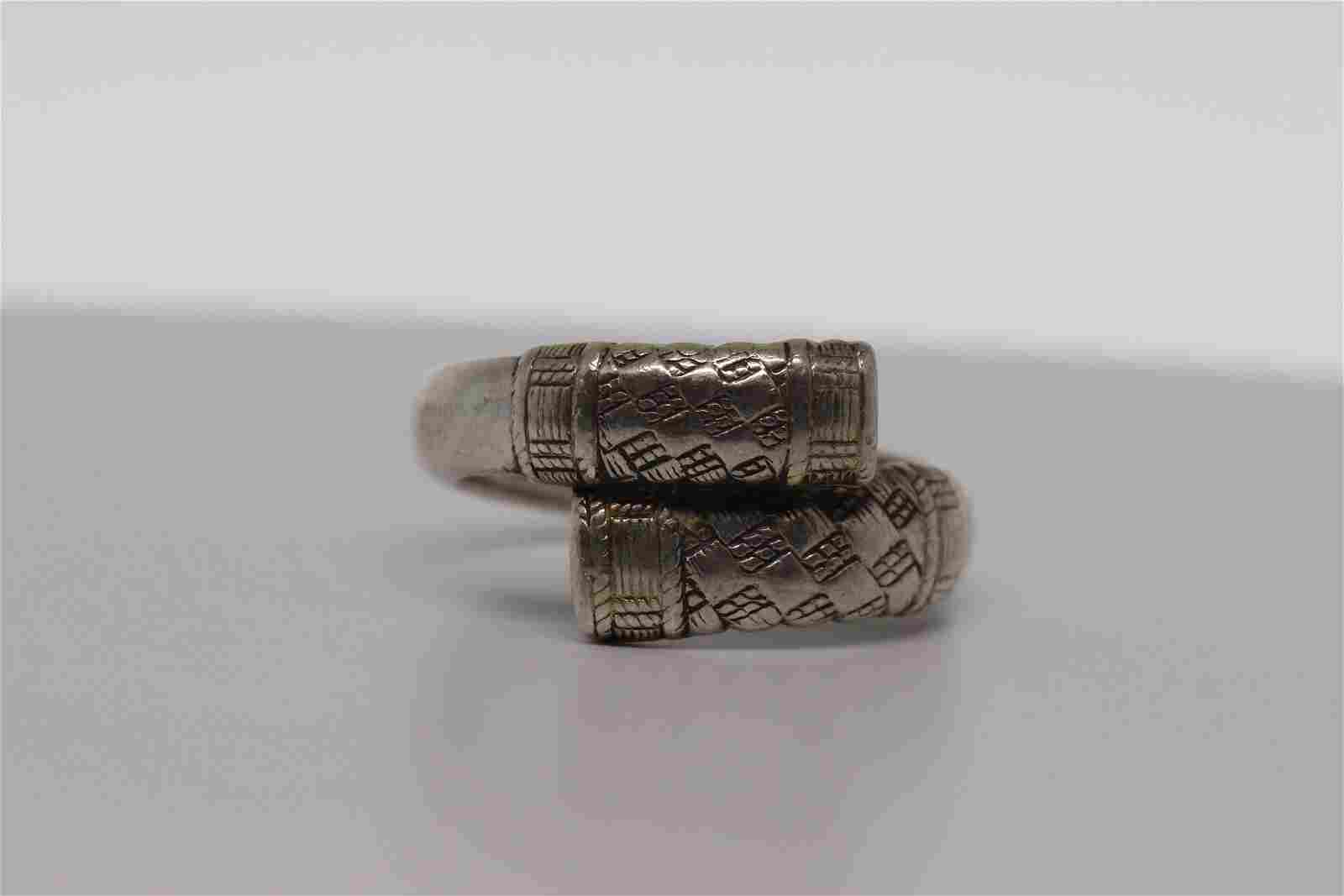 Wallace sterling silver ring.