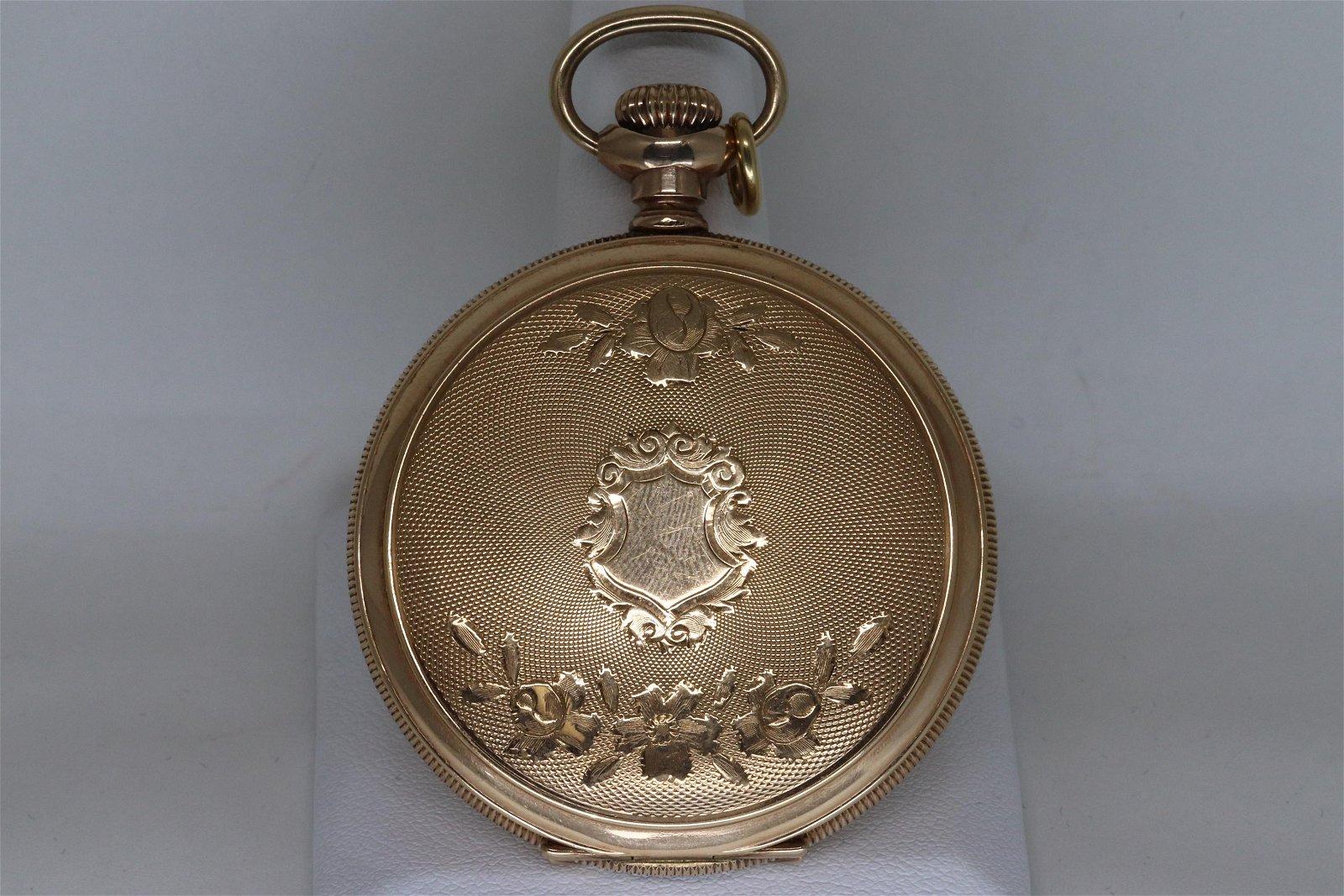 Elgin Antique Pocket Watch Full Hunter