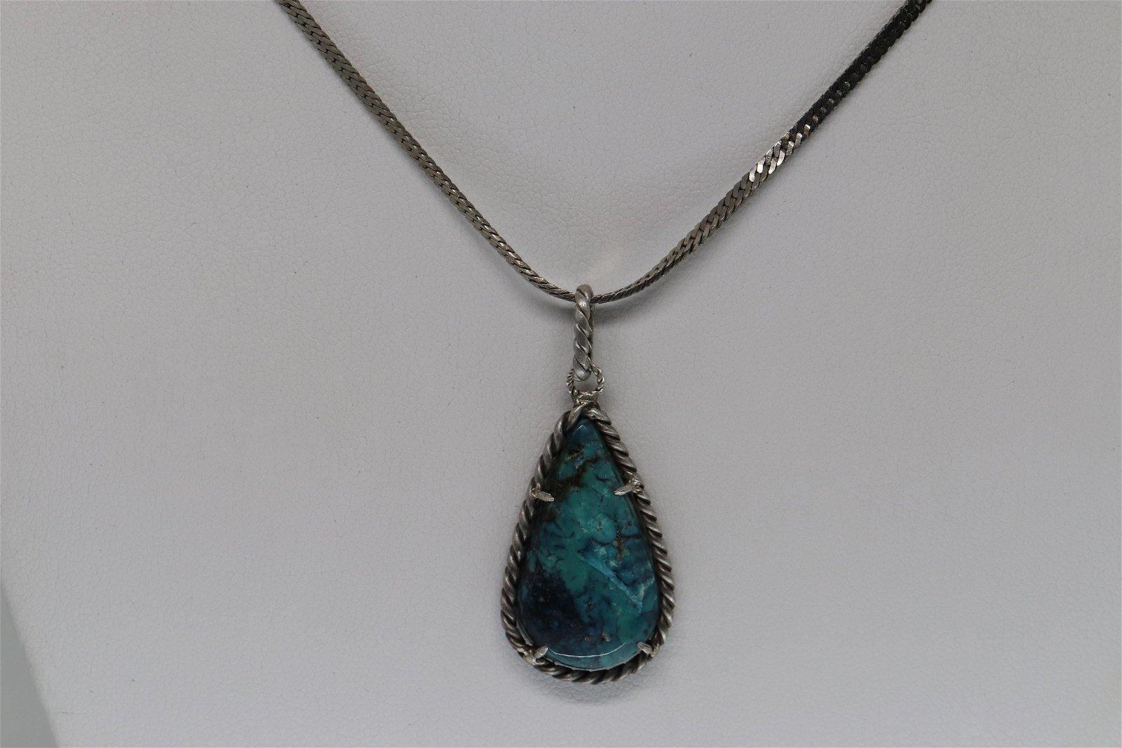 925 Ladies Silver Necklace.