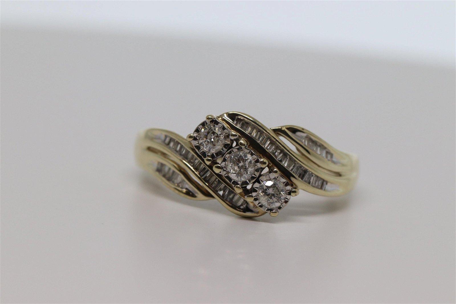Ladies Cocktail Diamond Ring