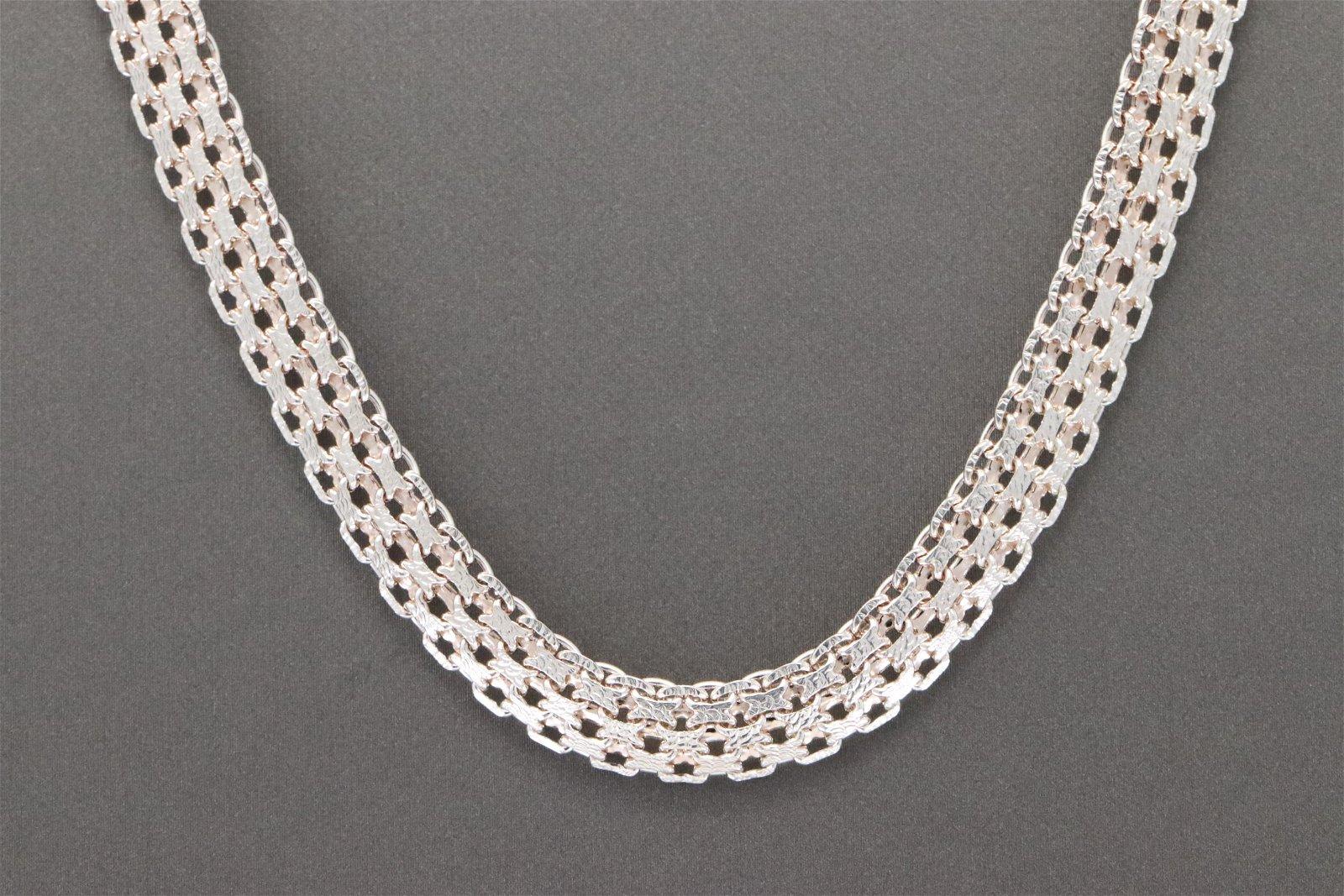 Ladies 925 Silver Necklace.