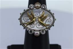 Ladies Silver Ring