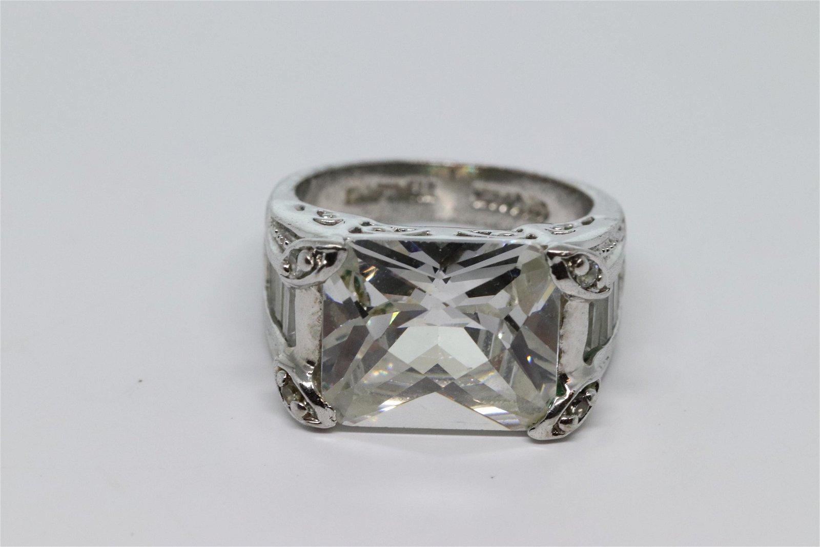 Ladies 925 Silver Ring.
