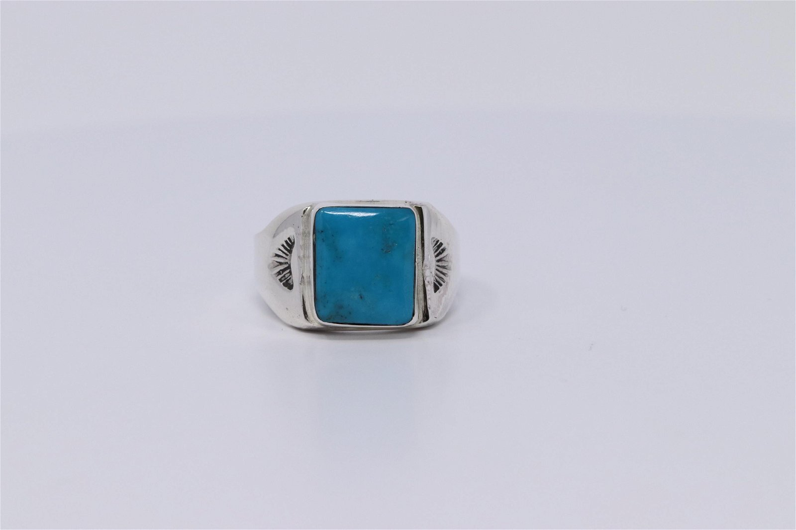 Navajo Sterling Silver Men's Ring
