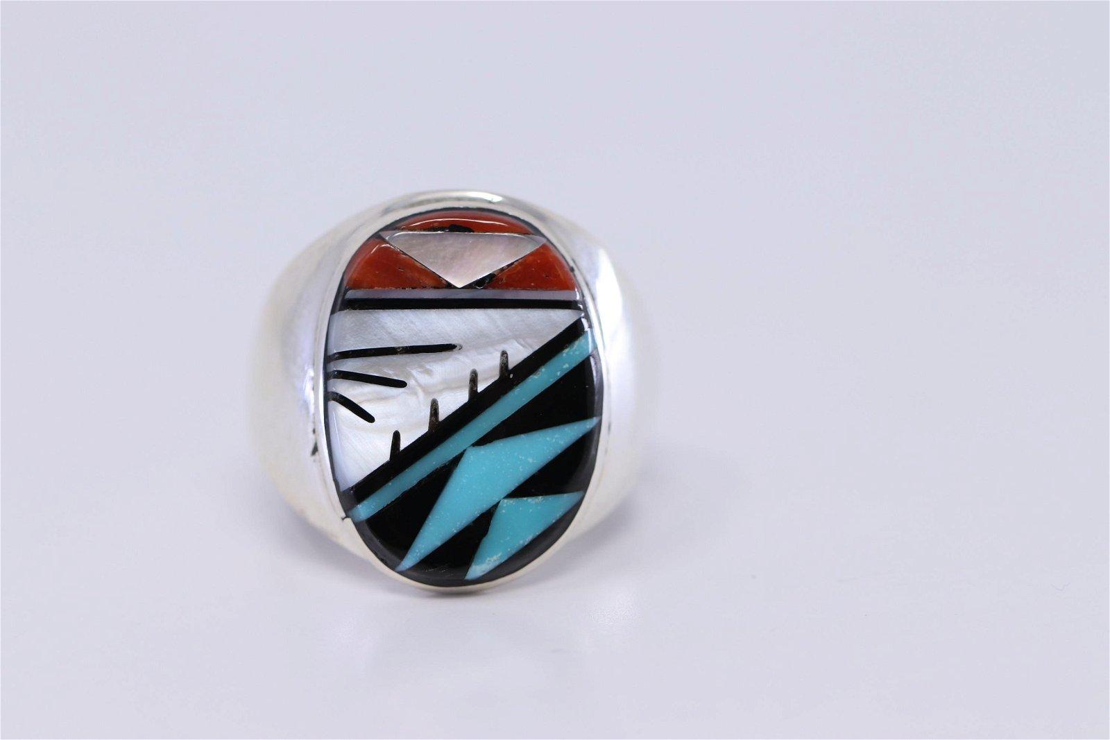 Native American Handmade Zuni Ring.