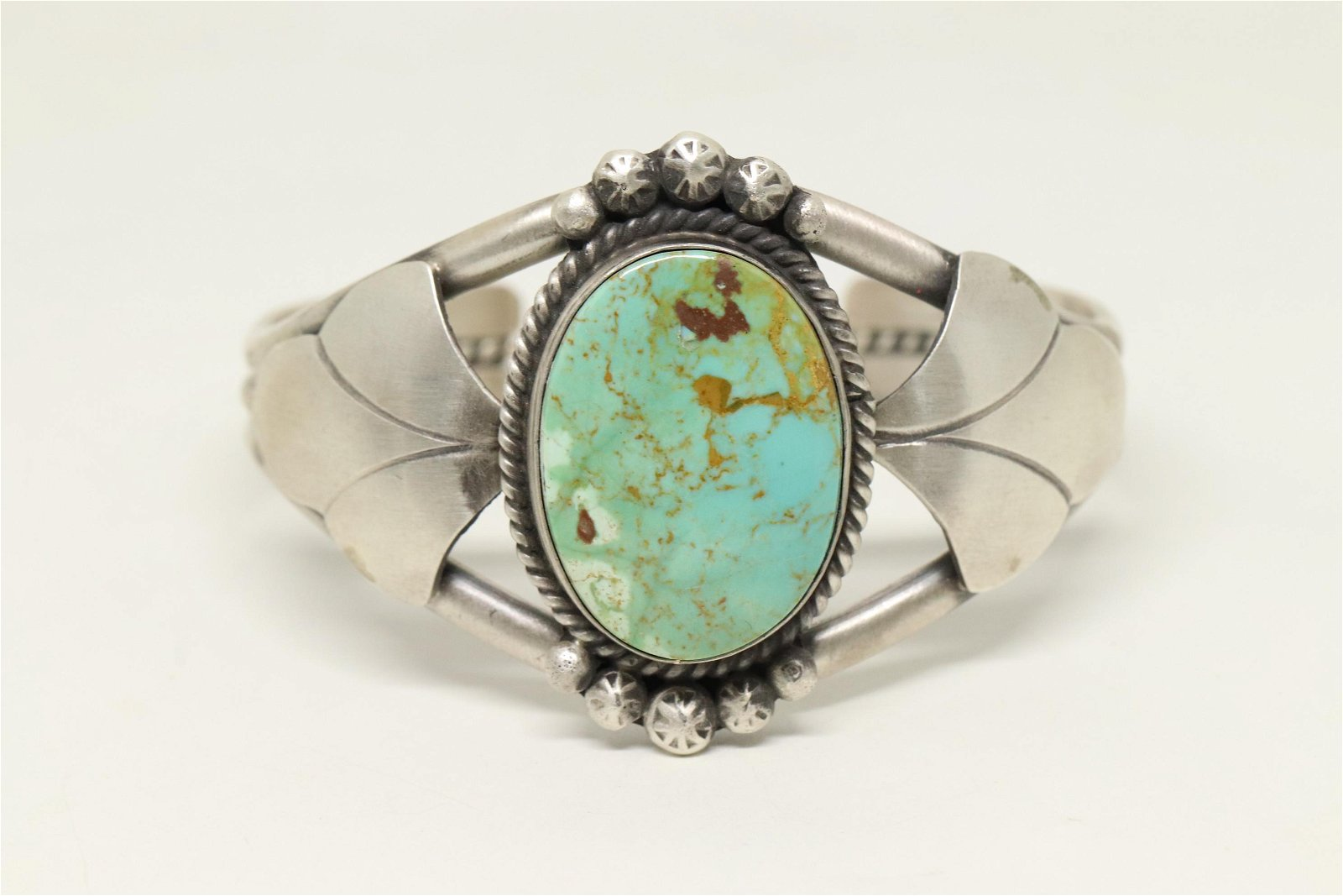 Augustine Largo Navajo Turquoise and Sterling Silver