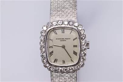 Vintage Audemars Piquet Diamond Ladies 18kt