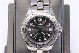Breitling Colt Stainless Steel Quartz Watch! Pre-owned.