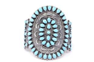 Native American Handmade Sterling Silver Navajo