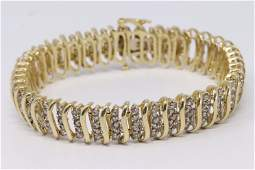 4ct Ladies Diamond Bracelet