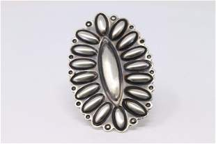 Native American Navajo Handmade Sterling Silver Ring By